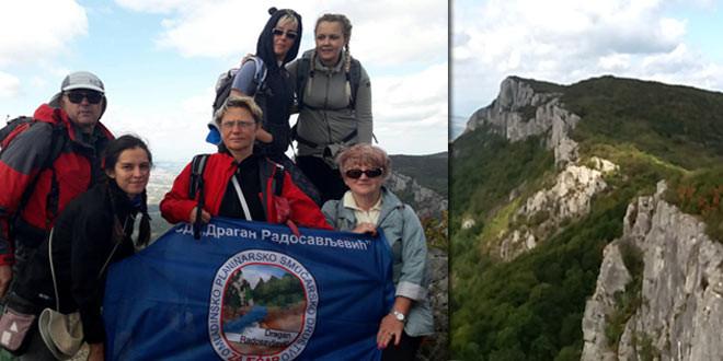 Zaječarski planinari učesnici uspona na Tupižnicu u čast donora čijim plućima diše Sandra Živković