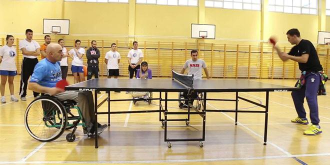 Međunarodni sportski susreti osoba sa invaliditetom u petak, 27. oktobra u Zaječaru
