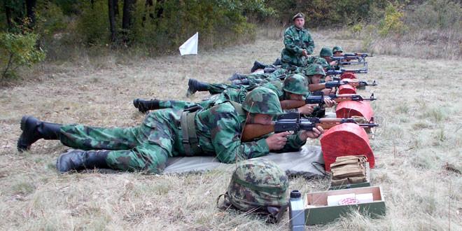 Počela obuka gađanja za rezerviste pešadijske čete Timočke brigade