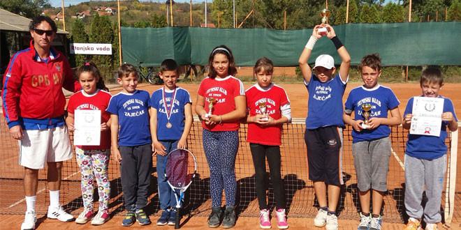 Zaječarski teniseri osvojili nove medalje!