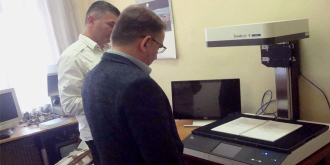 U Zaječaru postavljen, instaliran i pušten u rad jedan od najsavremenijih skenera za digitalizaciju kulturne baštine