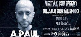 Zaječar će 2. decembra biti tehno prestonica istočne i južne Srbije -Zvezda večeri legendarni A.Paul