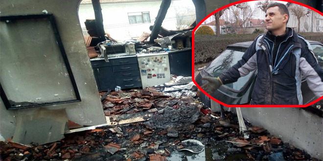 Porodica Živković iz Zaječara ostala bez krova nad glavom -Požar odneo sve što su godinama gradili (FOTO)