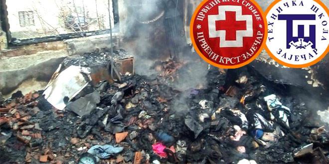 Sekcija zaječarske Tehničke škole pridružila se humanitarnoj akciji za pomoć porodici Živković