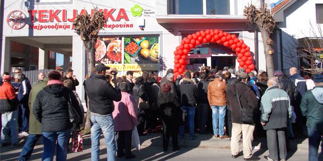 Tekijanka otvorila maloprodajni objekat u Zaječaru (FOTO)