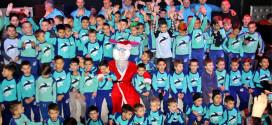 Na oduševljenje oko 130 polaznika Škole fudbala OFK 019 -PRIREĐENA NOVOGODIŠNJA ŽURKA i dodeljene zahvalnice prijateljima kluba (FOTO)