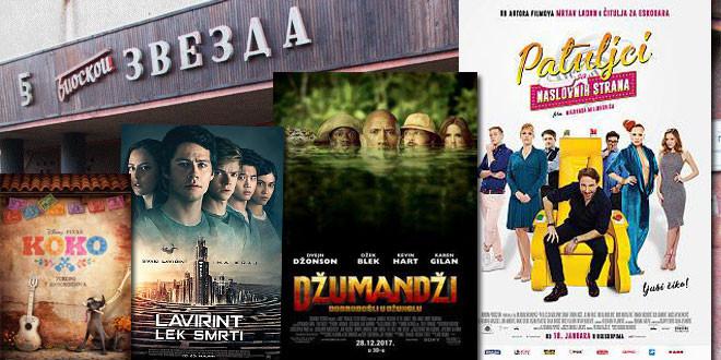 """Bor: Nove filmske projekcije na repertoaru bioskopa """"Zvezda"""""""