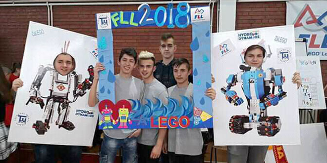 Budućnost grada Zaječara: Ekipa Tehničke škole osvojila treće mesto na državnom takmičenju First LEGO League