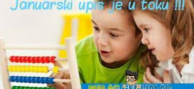 Da i vaše dete bude MALAC GENIJALAC iskoristite januarski upis