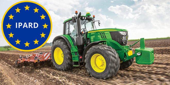 Završen IPARD konkurs za razvoj poljoprivrede -Najveće interesovanje za traktore