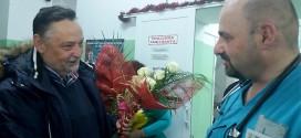 Gradonačelnik u novogodišnjoj noći obišao dežurne službe -U Zaječaru prva beba  rođena u novoj godini – dečak: LAZAR DONEO RADOST