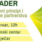 U Zaječaru sutra skup LEADER – osnovni principi i stvaranje partnerstava