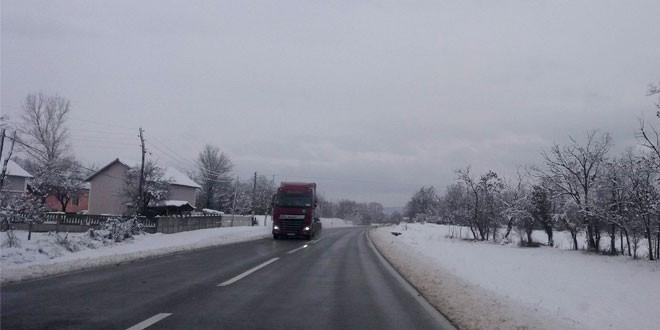 Danas oblačno sa kišom i slabim snegom, najviša dnevna temperatura 1 stepen