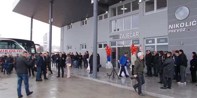 U ZAJEČARU OTVORENA MODERNA AUTOBUSKA STANICA kompanije Nikolić prevoz
