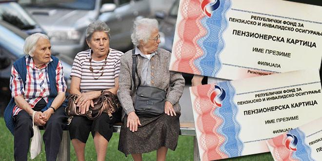 Penzionerske kartice za penzionere Bora, Kladova, Negotina i Majdanpeka od 13. avgusta