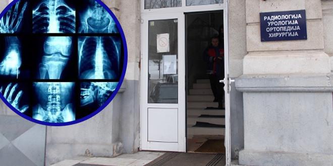 Radiološka služba zaječarskog Zdravstvenog centra trenutno bez dva aparata