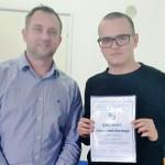 Zaječarac Viktor Stanković plasirao se na Republičko takmičenje iz engleskog jezika