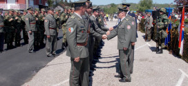 Značke i zahvalnice vojnicima Zaječara zbog dobrovoljnog služenja vojnog roka