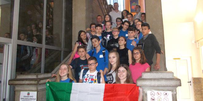 Italijanski učenici u Gradskoj upravi -NAJLEPŠI UTISAK U ZAJEČARU OSTAVILA POPOVA PLAŽA