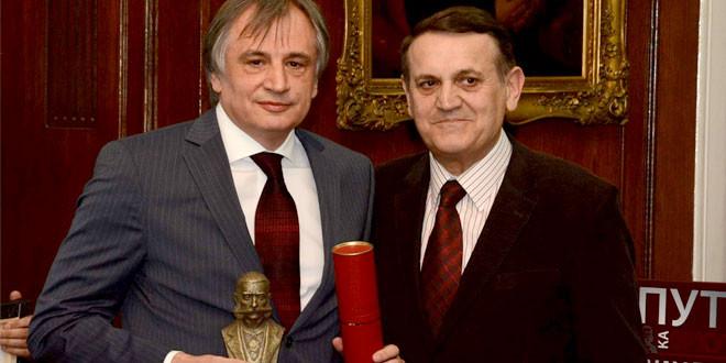 Ljubinku Gobeljiću, predsedniku boljevačke kompanije FPM Agromehanika nagrada za doprinos unapređenju privrednog ambijenta Srbije