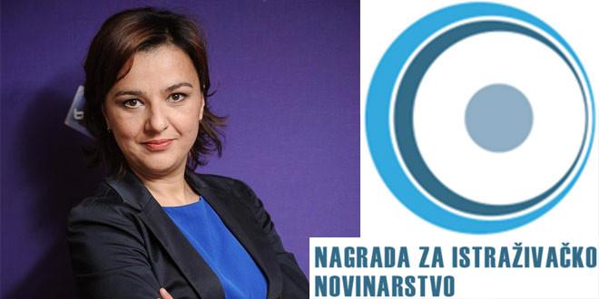NOVINARKA SONJA KAMENKOVIĆ NOMINOVANA ZA NAGRADU ZA ISTRAŽIVAČKO NOVINARSTVO 2018.