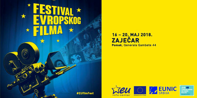 FESTIVAL EVROPSKOG FILMA 16. maja u Zaječaru
