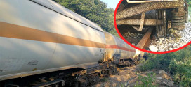OPET DRAMA NA PRUZI ZAJEČAR – NIŠ: Iskliznulo pet vagon-cisterni natovarenih kiselinom