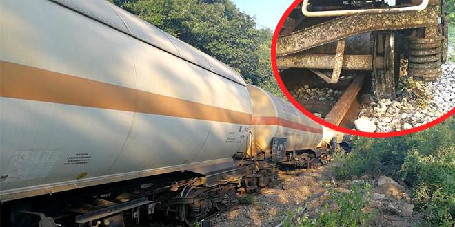 Na delu pruge Trnavac–Brusnik jutros iskliznulo osam praznih cisterni