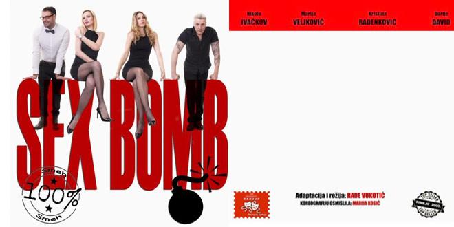 """Predstava """"Sex bomb"""" 10. maja u Zaječaru"""