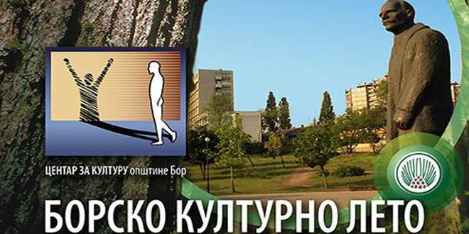 Borsko kulturno leto od 17. jula do 30. avgusta