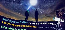 Moon fest od 26. do 29. jula na Staroj planini: Noćni uspon na Midžor, posmatranje i pomračenje meseca, posmatranje zvezdanog neba…