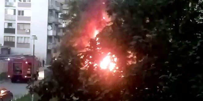 Požar u ulici Nikole Pašića lokalizovan brzom intervencijom vatrogasaca
