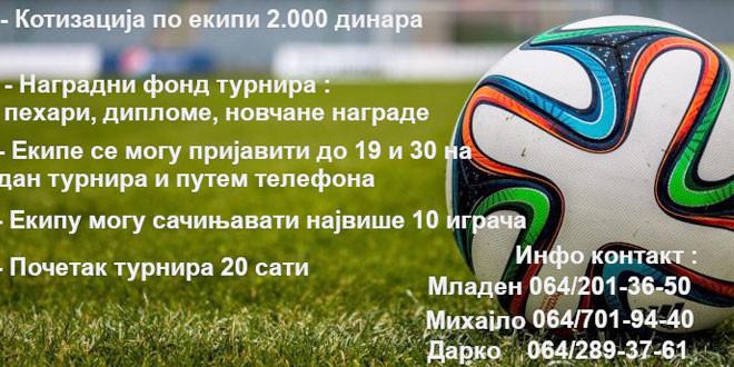 Večeras počinje noćni turnir u malom fudbalu u Osniću