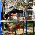 """POSTOJI I DRUGA STRANA ULICE: Zaječarski """"Street workout"""" tim poziva na žestoku vežbu u parku (VIDEO)"""