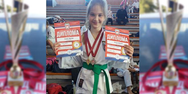 Karate: Mlada Zaječarka Marija Savić DRŽAVNI PRVAK u borbama