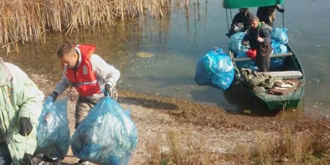 Uspešno očišćeno priobalje Grliškog jezera