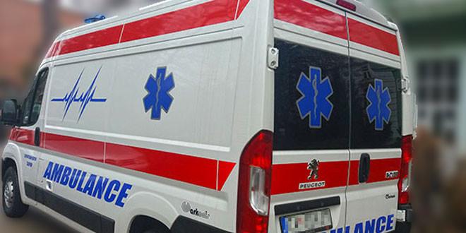 Teška saobraćajna nesreća na Valakonjskom brdu