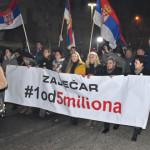 """Protest """"Jedan od pet miliona"""" održan u Zaječaru"""