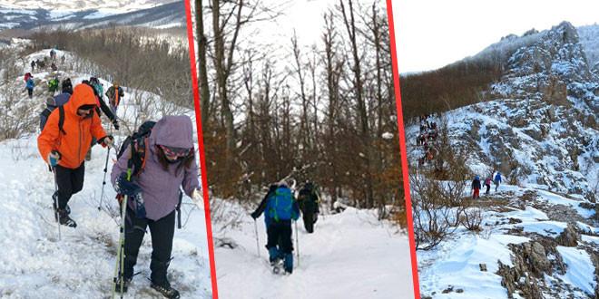 RAJ ZA AVANTURISTE: Prvi planinari stigli do vrha Rtnja -Na stazama više od 1.000 ljubitelja planine