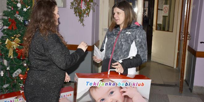 Tekijanka paketima darivala najmlađe stanovnike Zaječara, PRVOJ BEBI NA DAR I VAUČER OD 30.000 DINARA
