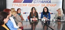 Zaječar: Žene SNS najoštrije osudile nasilje nad ženama
