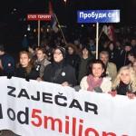 """Održan peti protest """"Jedan od pet miliona"""""""