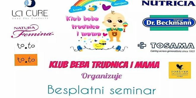 Seminar za mame i trudnice u Zaječaru