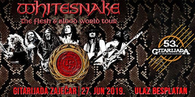 JUTROS POTVRĐENO – Whitesnake dolazi na Gitarijadu! Kaverdejl: Slavimo ljubav, dobru muziku i pozitivnu energiju! Hvala vam što ste zajedno sa nama u ovoj fascinantnoj misiji!