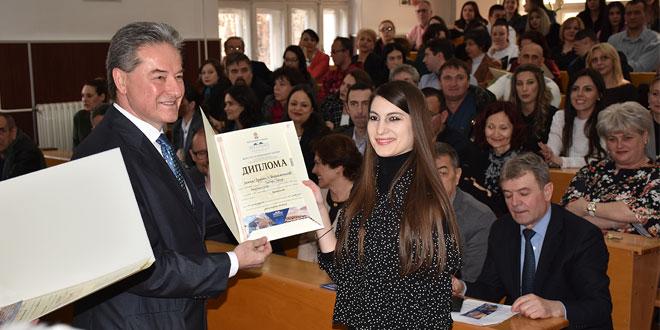 Svečano uručene diplome svršenim studentima Fakulteta za menadžment u Zaječaru (FOTO)