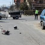 PONOVO SAOBRAĆAJKA NA IZVORSKOM PUTU -Povređen motociklista (26)