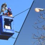 VRBICA I VRATARNICA ZASIJALE: Konačno nova ulična rasveta