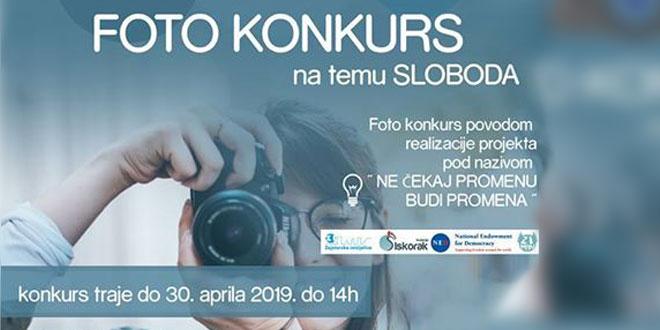 """Učestvujte u Foto konkursu """"Ne čekaj promenu – budi promena"""""""