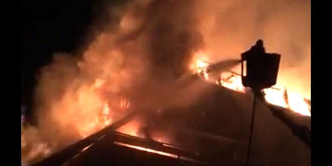 Sokobanja: Požar u hotelu Zdravljak