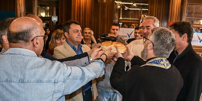 Gradski odbor Narodne stranke u Zaječaru obeležio stranačku slavu Svetog Vasilija Ostroškog